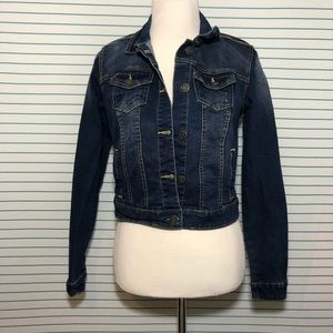 Denim/Jean Button Up Jacket